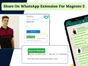 Webiators Share on WhatsApp Extension For Magento 2