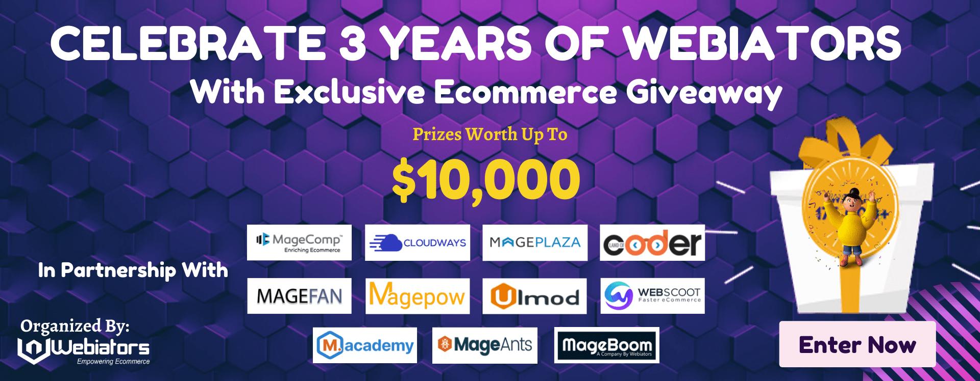 exclusive ecommerce giveaway