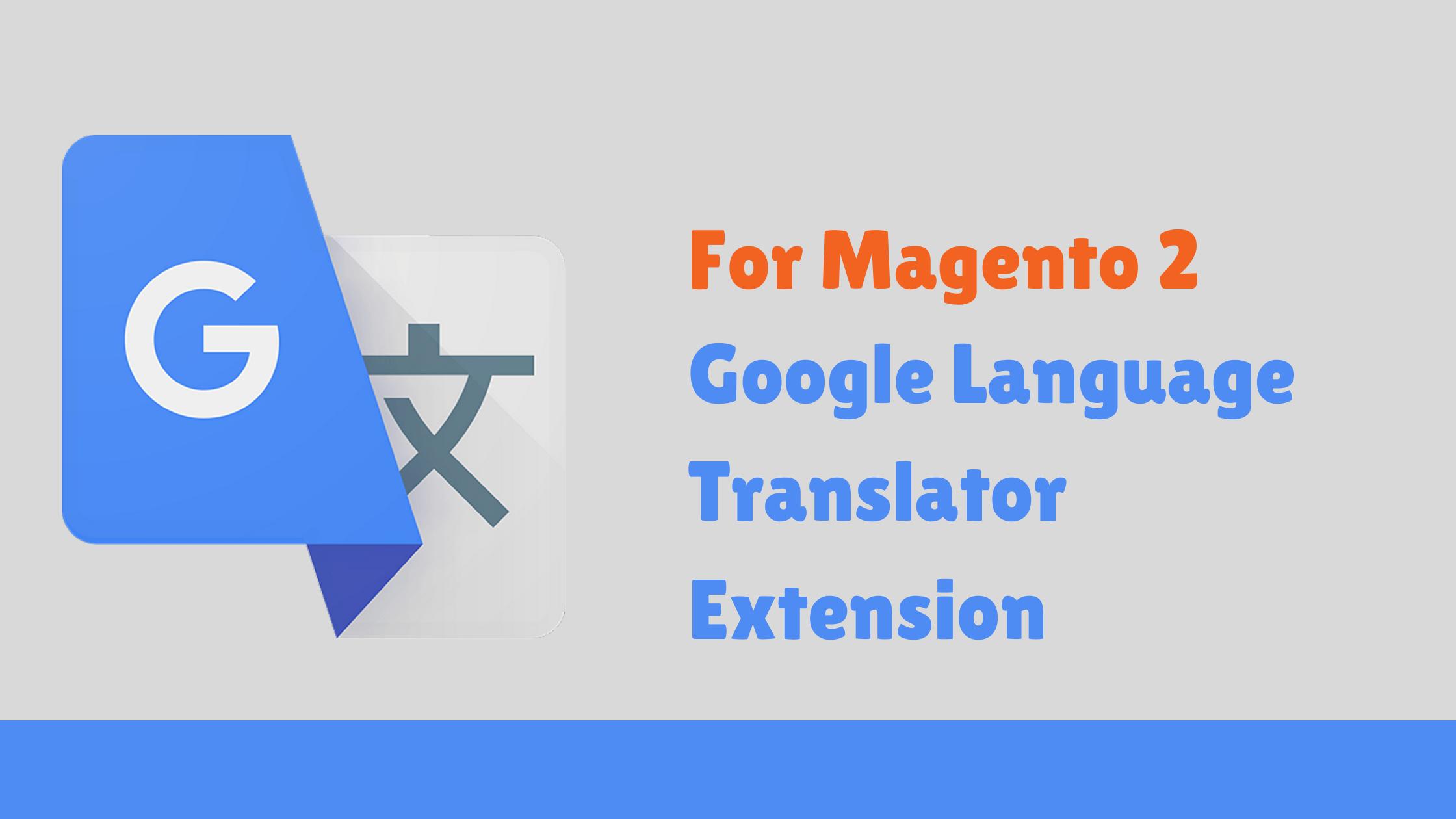 Google Language Translator Extension