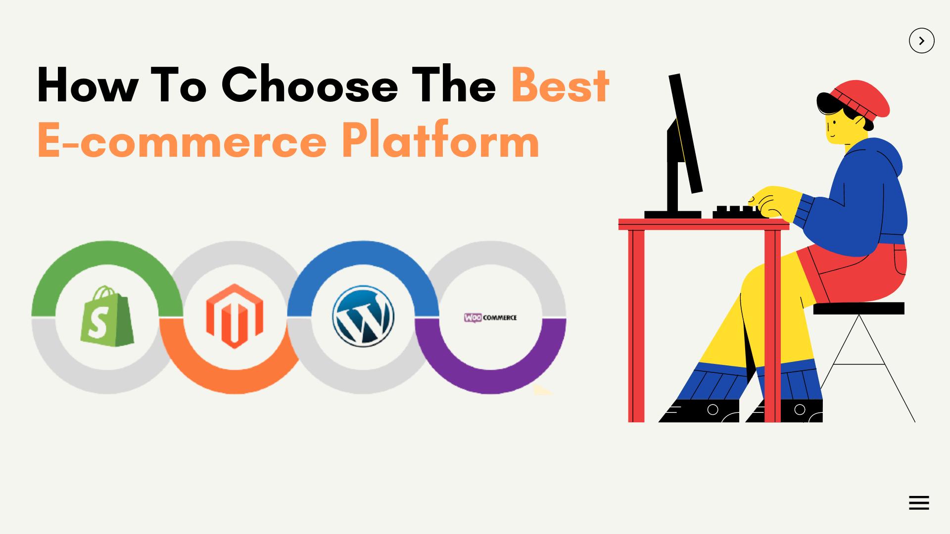 Best eCommerce platform to choose