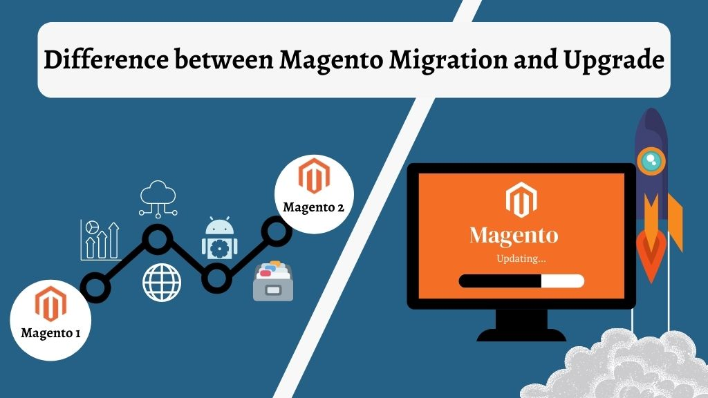Difference between Magento Migration and Upgrade