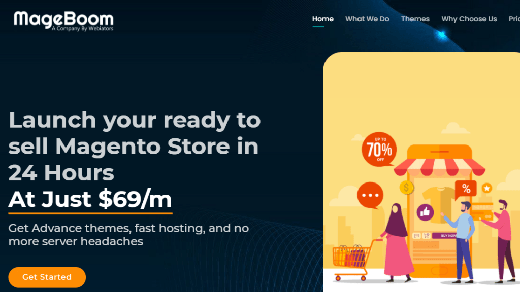 Ready to Sell Magento Websites With MageBoom