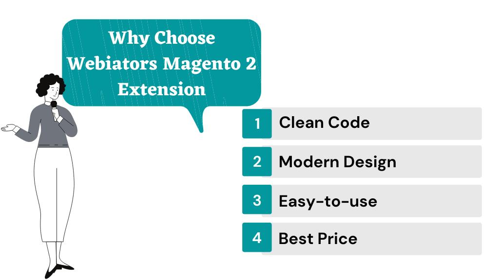 Why Choose Webiators Magento 2 Extension